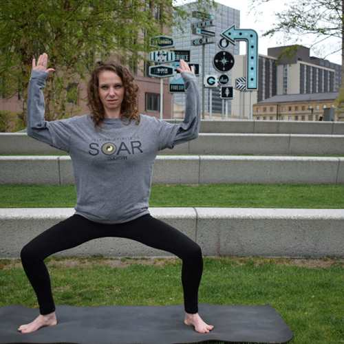 Yoga on The Green presented by Studio 11 with Cordelia Parker