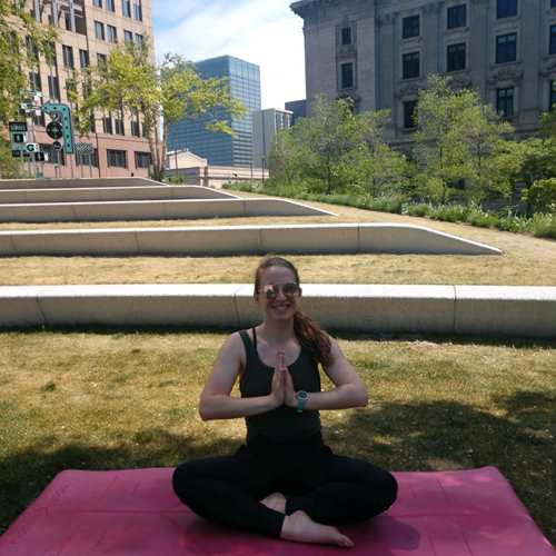 Yoga on The Green presented by FACTEUR PR with Kit John