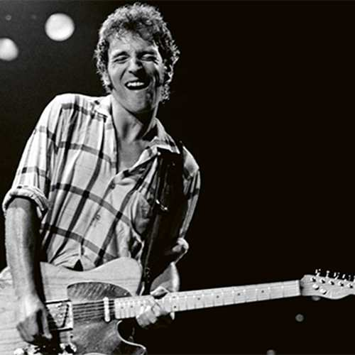 """Fairmount Center for the Arts """"Pull Back the Curtain"""" Speaker Series: """"Bruce Springsteen: Live from"""