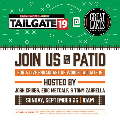 Tailgate 19 at Great Lakes Brewing Co.