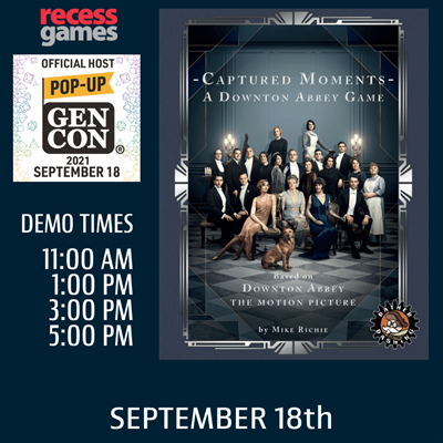 Learn to Play Captured Moments - A Downton Abbey Game at Pop-up Gen Con