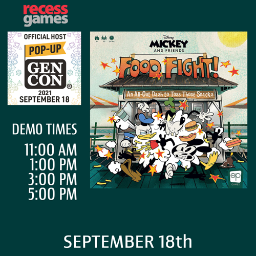 Learn to Play Disney Mickey And Friends Food Fight at Pop-up Gen Con