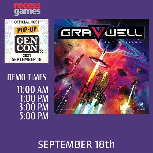 Learn to Play Gravwell 2nd Edition at Pop-up Gen Con
