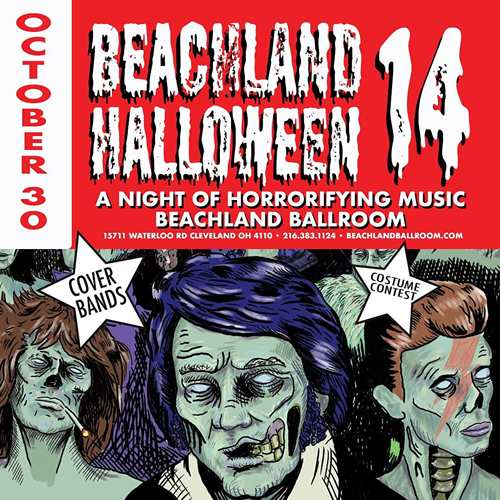 The 14th Annual Halloween Cover Show & Costume Contest