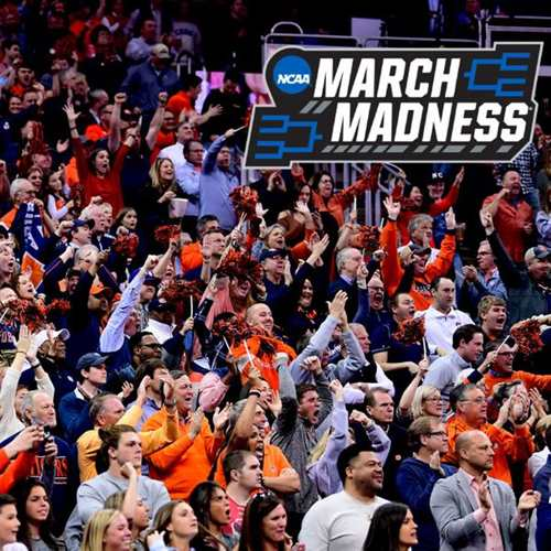 2020 NCAA March Madness - First and Second Rounds
