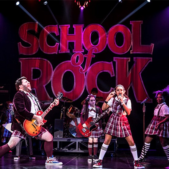 School of Rock Itinerary