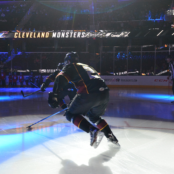 Cleveland Monsters v. Rockford Icehogs