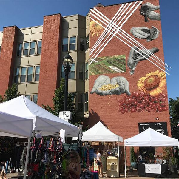 Cleveland Bazaar in Market Square Park