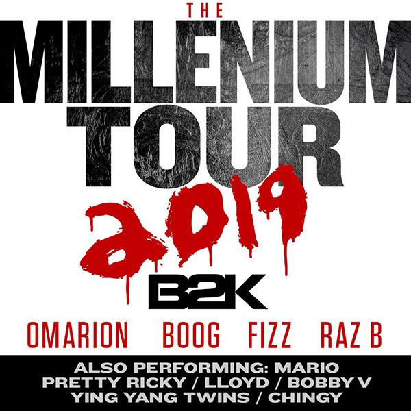 B2K: The Millennium Tour 2019