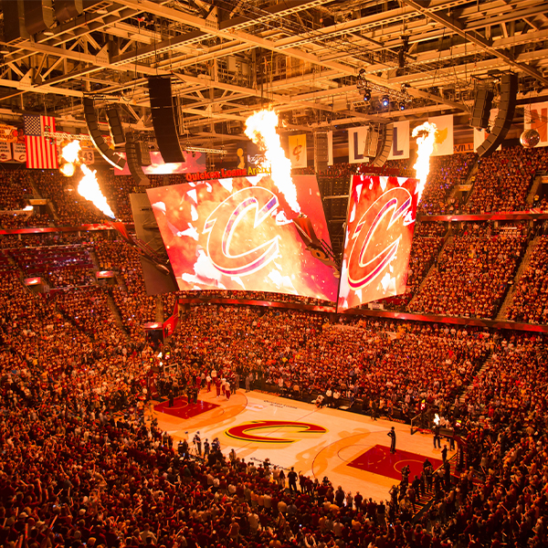 Cleveland Cavaliers v. Chicago Bulls