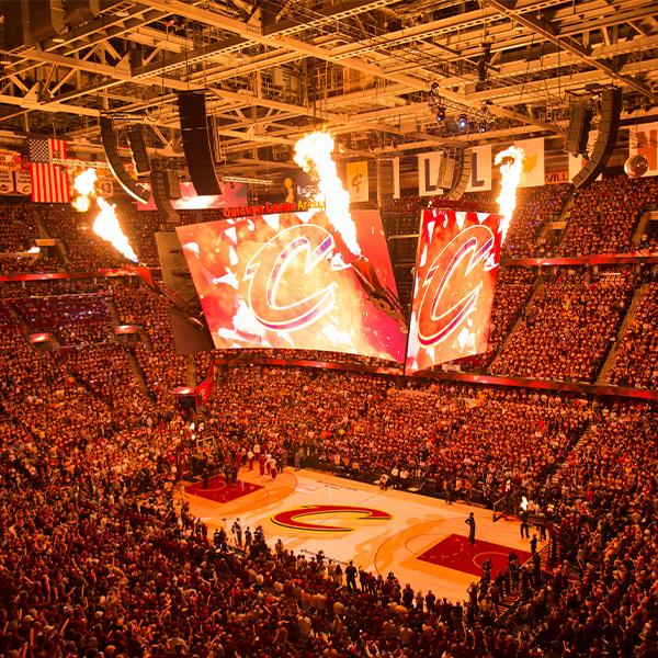 Cleveland Cavaliers v. Chicago Bulls